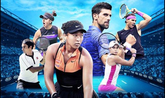 2020 全豪オープンテニス wowow
