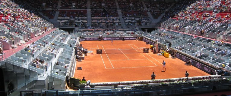 Mutua Madrilena masters Madrid 会場