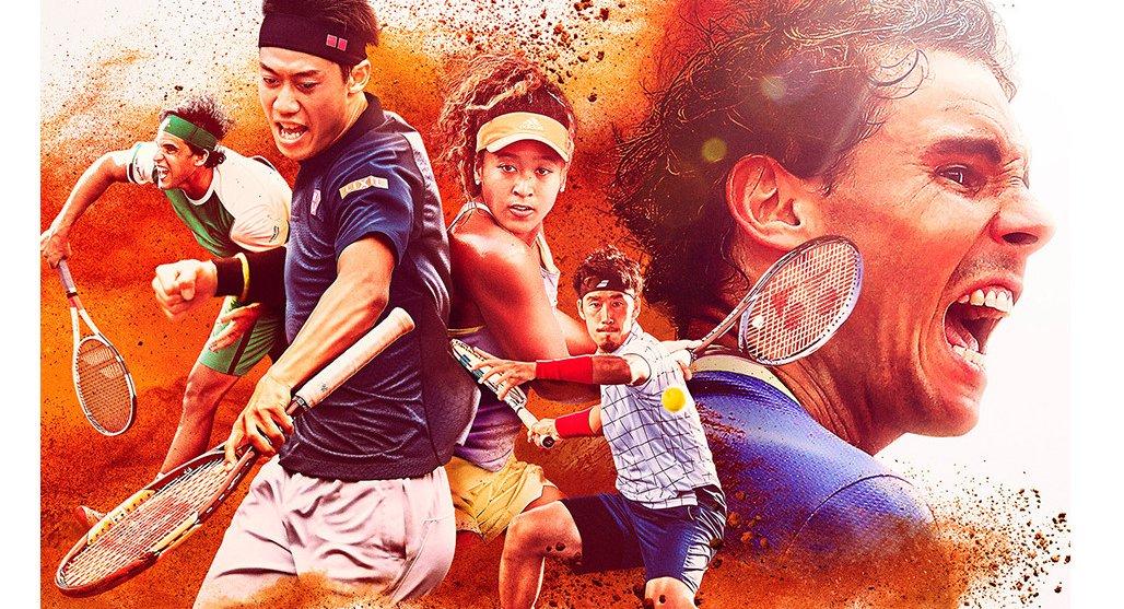 2018全仏オープンテニスwowow告知
